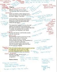 how to and interpret a poem pictures of texts and end of year diggingannotated0001 middot high school