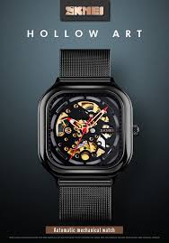 <b>SKMEI</b> Fashion <b>Mechanical</b> Watch <b>Men Automatic</b> Watch Quartz ...