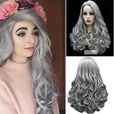 ToDIDAF <b>Women's Fashion Wave Curls</b> Wig, Adjustable Front Lace ...
