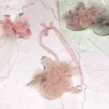 Wholesale <b>Korea Handmade Cute</b> Lace Yarn Pearl <b>Cartoon</b> Swan ...