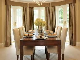flower arrangements dining room table: formal dining room decorating ideas with beautiful flower arrangement and brown drapes