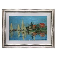 Regatta at Argenteuil by Claude Monet, Oil Painting ... - Amazon.com