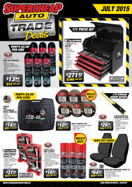 Supercheap Auto AU Trade Deals - July 2015 by Super Retail ...