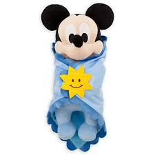 <b>Disney's Babies Mickey Mouse</b> Plush Doll and Blanket - Small - 11 ...