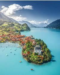 Iseltwald, Lake Brienz, Switzerland, Travel, Tourist Attraction ...