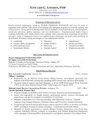 highly qualified senior program manager resume sample summary fullsize by gritte highly qualified senior program manager resume