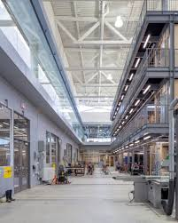 ontario trade school by perkins will comprises shed like volumes fleming college by perkins will