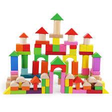 <b>100PCS</b> Children Education Toy <b>Color</b> Shape Recognition <b>Wooden</b>