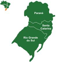 Resultado de imagem para mapas das regiões do brasil