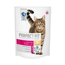 <b>Perfect Fit Adult</b> сухой корм для взрослых кошек с курицей - 650 г ...