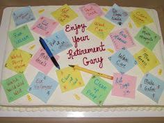 retirement cakes on Pinterest   Teacher Retirement, Retirement and ...