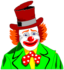 Image result for images of cartoon clown face