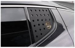 <b>Накладки на задние форточки</b> Kia Stinger, надпись Stinger - GT и ...