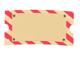 blank concert ticket template clipart best ticket borders