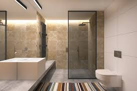 full size french bathroom center  natural modern bathroom materials