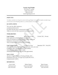 creating resume header resume samples writing guides for creating resume header creating an effective resume header sample resume for legal assistants best legal assistant
