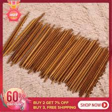 【welcomehome】<b>55Pcs 11sizes 5</b>'' <b>13cm</b> Double Pointed ...