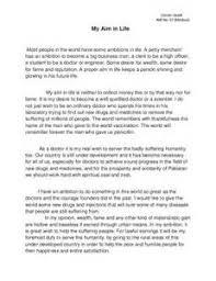 Essay on ambition