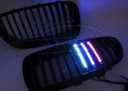 <b>Решётки радиатора</b> BMW F10 с <b>Led</b> подсветкой