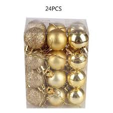 24Pcs <b>Christmas Ball</b> 3Cm/4Cm/6Cm Barrel <b>Color Ball Christmas</b> ...