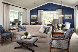 accent wall and furniture combinations blue living room ideas