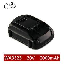 2000mAh 20V Li ion WA3525 Rechargeable Battery WORX ...