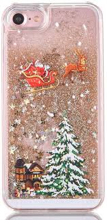 "iPhone 6s Case 4.7"" - TIPFLY <b>Christmas Tree</b> Series Bling <b>Flowing</b> ..."