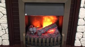 Эффект реального пламени в очаге Danville Antique Brass ...