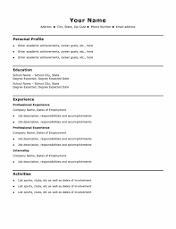 easy sample resume sample templatex123 easy sample resume