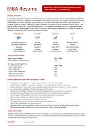mba admission resume objective admission resume sample