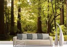 <b>Green Forest Wallpaper</b> for <b>Walls</b> Promotion-Shop for Promotional ...