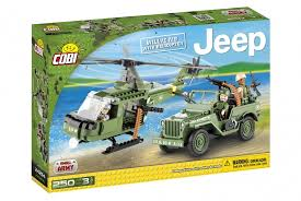 <b>Конструктор COBI</b> Jeep Willys MB with Helicopter - купить в ...