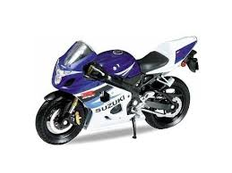 Модель <b>мотоцикла WELLY 1:18</b> Suzuki GSX-R750 в интернет ...