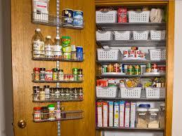 photos kitchen cabinet organization: pantry door rack organizer pantry after door rack organizer sxjpgrendhgtvcom
