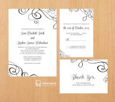 pdf templates easy to edit and print at home elegant ribbon pdf templates easy to edit and print at home elegant ribbon swirls invitation