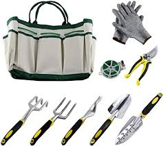 Ucharge Ucharge <b>9 Pieces Garden</b> Tool Sets Include a Plant Rope ...