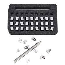 <b>26pcs Alphabet</b> Leather Stamping Printing Punch Tools <b>26 English</b> ...