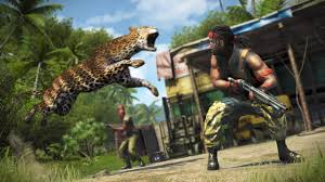 wild animal attack in game far cry 3