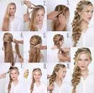 Плетение кос самой себе с фото