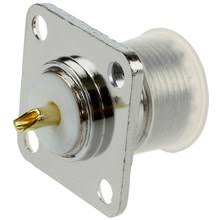 flange mount connector