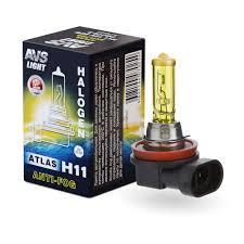 Галогенная <b>лампа AVS ATLAS ANTI-FOG</b> BOX желтый H11.12V ...
