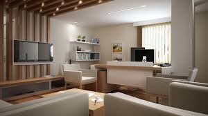interior designing contemporary office outstanding small office interior design ideas with modern brown wooden tabletops near captivating receptionist office interior design implemented
