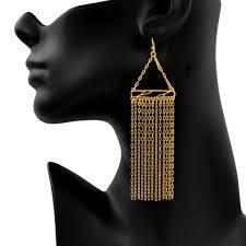 <b>24K Gold Plated</b> Earrings - Mercedes Shaffer