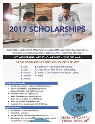 los angeles mission college aft scholarships