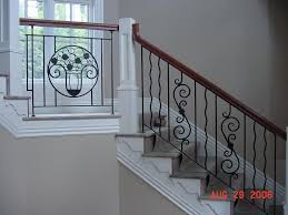 Custom Stair Railing Design Rail Sylvan S Custom Iron Works Stair Railings French