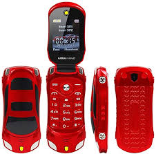 Sports Car Model F15 Mini Flip Phone Dual SIM Card ... - Amazon.com