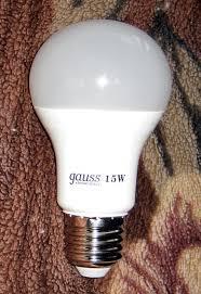 Обзор от покупателя на <b>Светодиодная лампа Gauss</b> Elementary ...