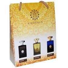 <b>Подарочный набор</b>-сумка 3*15 <b>Amouage</b> For Men — aroma-light.ru