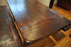 rustic reclaimed wood dining table is also a kind of rustic wood dining room table and chic dining room table