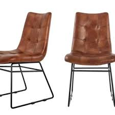 <b>Faux</b> Leather - <b>Dining Chairs</b> - Kitchen & Dining Room Furniture ...